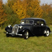Citroen Traction zwart 01