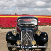 Citroen Traction verlengd Zwart 02