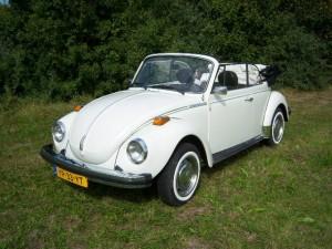 Volkswagen Kever Cabriolet Wit