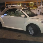 Goedkope Trouwauto Beetle Cabrio